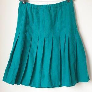 Vintage Pendleton Pleated Wool Skirt